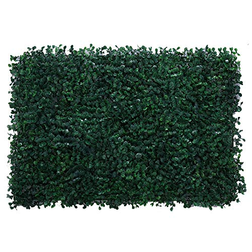 TTIK Siepe Sintetica Sempreverde 3D Artificiale Pannelli Di Foglia Prato Decorazioni Giardino Verde Da Parete Verticale Per Piante 10Pcs,D