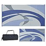 Reversible Mats 159183 Blue/Grey 9-Feet x...