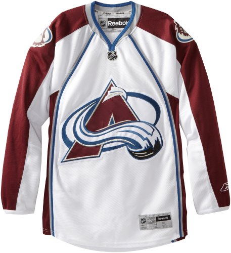 NHL Colorado Avalanche Premier Jersey, White, Medium