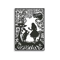 クロスステッチ, クロスステッチキット、小さな黒と白の絵画、DIYキット素材、リビングルームと寝室のための装飾的な絵画 (Size : 11CT printing 42×56CM)