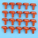20 perillas de estrangulador de carburador compatibles con Stihl FS80 FS85 FS87 FS90-Z FS100 FS110 FS120 FS130 FS160 FS200 FS180 FS250 Desbrozadora desbrozadora