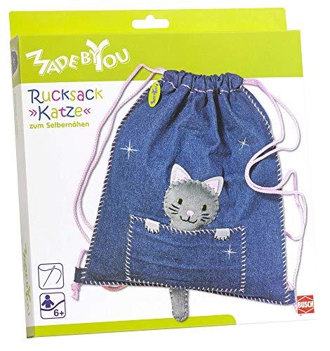Made by You 13016 Rucksack »Katze«, Blau