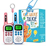 Kids Toys for 3-15 Year Old Boys Girls, CRAZYTECH Walkie Talkies for Kids 22 Channels 2 Way Radio Gift Toys with Backlit LCD Flashlight, 16 Miles Range Gifts for Boys Girls to Outside, Hiking, Camping