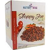 Nutriwise - Sloppy Joe Entree   Healthy Diet Foods   High Protein, Low Calorie, Low Sugar, Cholesterol Free (7/Box)