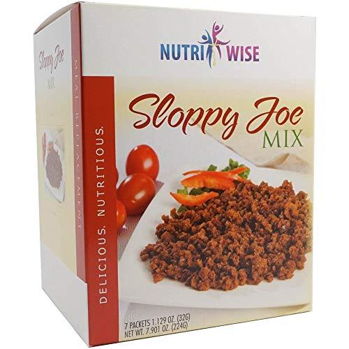 Nutriwise - Sloppy Joe Entree | Healthy Diet Foods | 7/Box |...