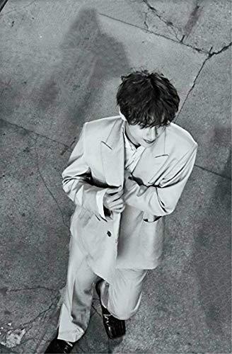 jiuyaomai Puzzle 1000 Piezas/KPOP Idol BTS V-Kim Tae Hyung/Challenge - Rompecabezas de 1000 Piezas para Adultos y niños a Partir de 12 años/50x75cm
