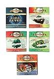 JaipurCrafts Al-Awab Assorted Herbal Nicotine and Tobacco Free Hookah Flavors (Multicolour) - Pack