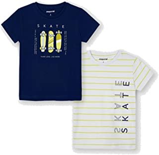 Mayoral Set 2 Camiseta Manga Corta Skate niño Modelo 3045