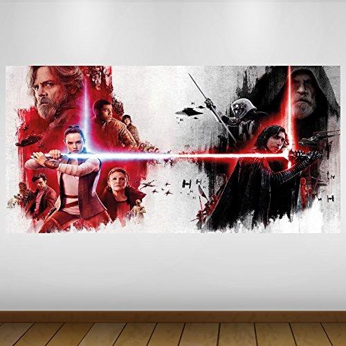 LagunaProject Extra Grande Star Wars Jedi Último Rey Kylo Ren de Vinilo de...