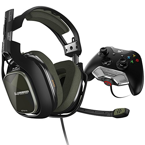 ASTRO Gaming A40 TR Headset + MixAmp M80 - Black/Olive - Xbox One (Renewed)