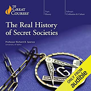 The Real History of Secret Societies audiobook cover art