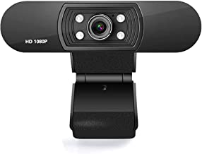 1080P Webcam with Microphone, Web Camera Full HD 1080P, for PC Laptop Desktop Video Calling, Conferencing, Compatible with...