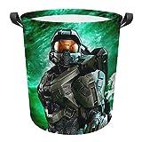 ATDNIVEW Halo M-Ast-Er Chief Laundry basket Portable folding laundry basket Waterproof Laundry Hamper Storage Bin