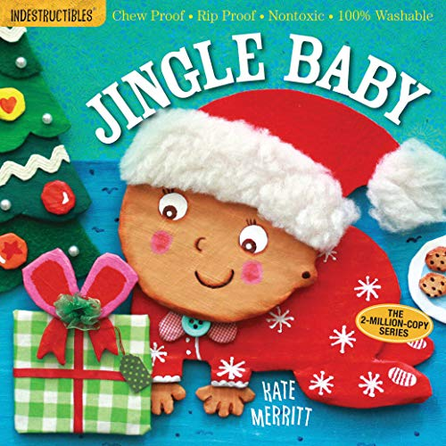Indestructibles: Jingle Baby: Chew Proof · Rip Proof · Nontoxic · 100% Washable (Book for Babies, Newborn Books, Safe to Chew)