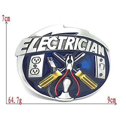 Product Image 2: MarryAcc Electrician Tools Belt Buckle Men's Gift, 90mm x 70mm