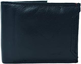 Levi's Leather Black Men's Wallet (37541-0015)