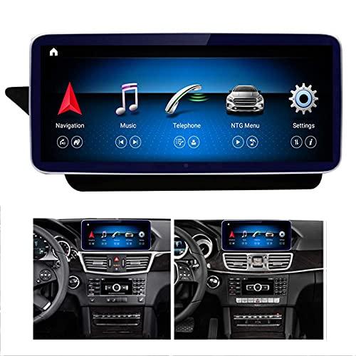 Coche Navegación Gps Radio Para E-KLASSE S212 W212 E200, E250, E300, E350, E400, E500, E550-2014 NTG4.0 Multimedia Player 10.25'' IPS Pantalla Táctil Fm Reproductor Con Carplay,N200(4 core 2+32G)