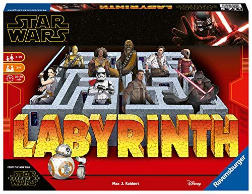 Ravensburger Spiele 26137- Das verrückte Labyrinth mit den Figuren aus STAR WARS IX- ein Spieleklassiker für die ganze Familie