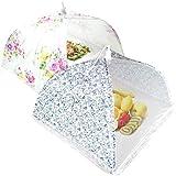 Atariya™ Food Cover Tents 14 Inch Pop-up Encrypted, Pack of 2, Keep Flies Bugs Mosquitoes Away,...