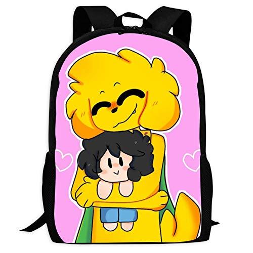 VJSDIUD Mik-ecra_ck Mochilas Tipo Casual Bolsas Escolares Niña Niño Bolsa de Viaje Bolsos de Mujer Hombre Adolescente Outdoor Viaje Infantiles Backpack Impermeable