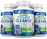Colon Cleanser & Detox for Weight Loss - 3000mg Max Strength Detox Cleanse - Colon Detox Pills for Men & Women - Flush Toxins, Bloating & Boost Energy (3 Pack)