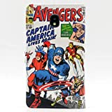 TPACC Case for Galaxy J3 2018, Cartoon Comic Superhero Alliance Pattern Leather Wallet Flip Slim Case Card Holder Stand Shockproof Protector TPU Cover for Samsung Galaxy J3 2018 Release