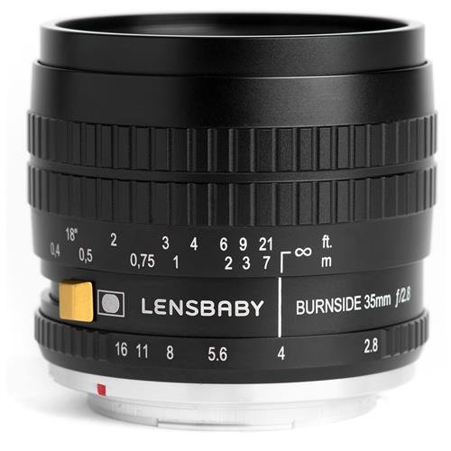 Lensbaby Burnside 35 Sony Alpha