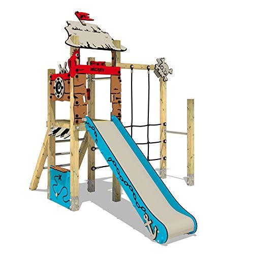 Klettergerüst Spielturm WICKEY PRO MAGIC Tale+ Spielplatz - Für den öffentlichen Bereich - Ideal geeignet für Kindergarten, Schwimmbad, Schule, Hotel, Restaurant, Ferienpark & Campingplatz