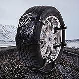 WEI-LUONG Cadena de neumáticos de arena 1PCS Universal Vehículos invierno del carro del coche del neumático de nieve...