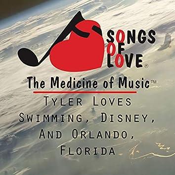 Tyler Loves Swimming, Disney, and Orlando, Florida
