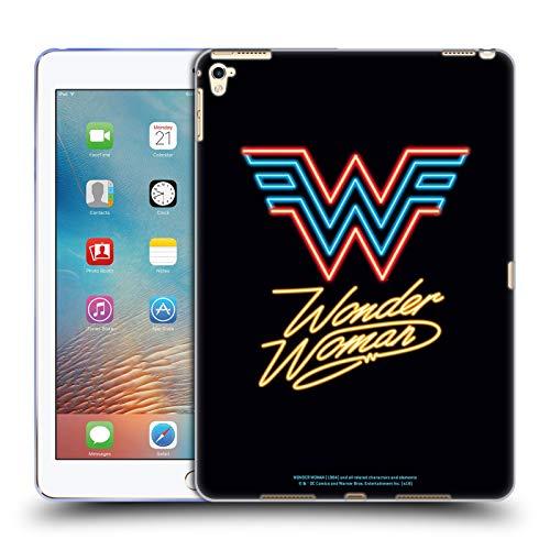 Official Wonder Woman 1984 Neon Logo Art Soft Gel Case Compatible for Apple iPad Pro 9.7 (2016)