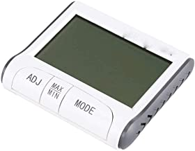 NA YAJJA Digital termómetro higrómetro, termómetro de Interior con la Humedad del Monitor, Pantalla Grande
