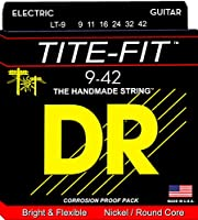 DR エレキ弦 TITE-FIT ニッケルメッキ .009-.042 LT-9