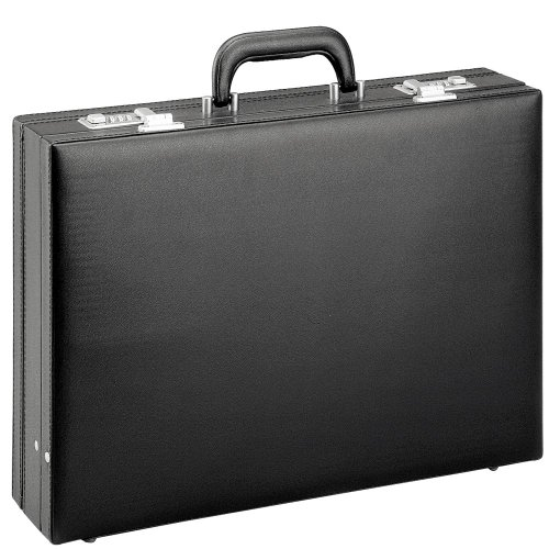 D & N,2625-01 Business Line Aktentasche, 44 cm, 15L, Schwarz
