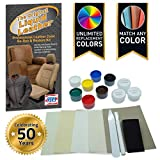 Liquid Leather Repair and Re-Color Kit for All Vinyl &...
