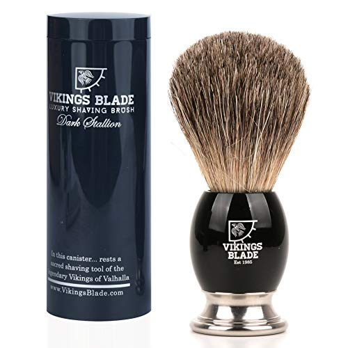 Vikings Blade Luxury Shaving Brush, Heavy Swedish...