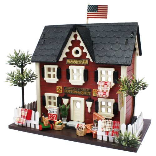 Billy handmade doll house kit Woody House Collection Quilt Shop 8812 (japan import)