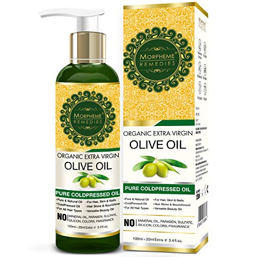 Morpheme Remedies is our top olive oil for hair