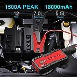 Zoom IMG-1 fowawu avviatore batteria auto 1500a