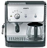 KRUPS XP2010 Combination Unit with 10 Cup Coffee Maker & 15-bar Pump Espresso