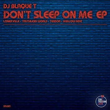 Don't sleep on me EP