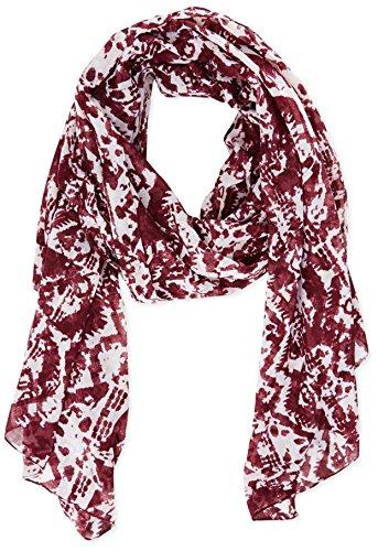 ONLY Damen onlKATHLYN SCARF ACC Tuch, Rot (windsor Wine/autumn Aztec), (Herstellergröße: One Size)