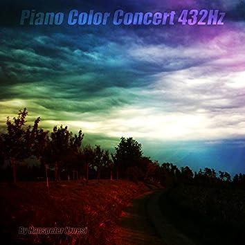 Piano Color Concert 432hz