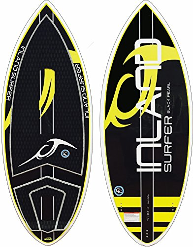 Inland Surfer Black Pearl Skim Wakesurfer Sz 4ft 7in