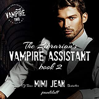 The Librarian's Vampire Assistant, Book 2 audiobook cover art
