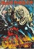 zolto Collection Eddie Iron Maiden - Póster (30,5 x 45,7 cm), diseño de número de la bestia