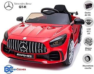 BC BABY COCHES Coche eléctrico para niños Mercedes GT-R