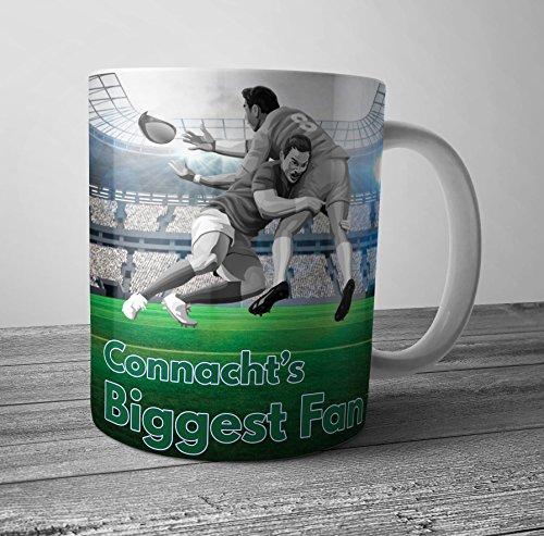 Tasse mit Rugby-Motiv Connacht's größter Fan – Geburtstagsgeschenk/Strumpffüller