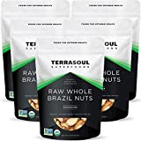 Terrasoul Superfoods Organic Brazil Nuts, 5 Lbs (5 Pack) - Raw   Unsalted   Rich in Selenium