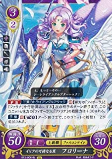 Fire Emblem Cipher B13-006 Iria's Pretty Wings Florina HN (High Normal) Flame, Steel, Thought and Sorrow